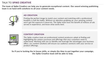 Talk to Spike Creative Today!