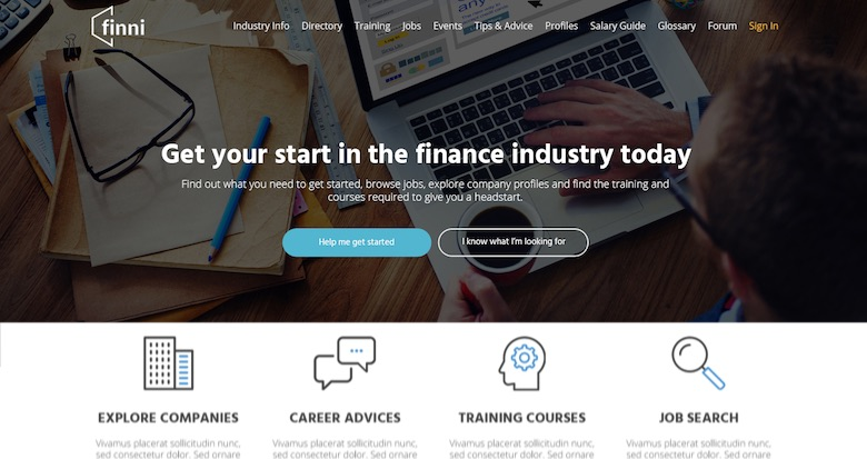 Finance careers hub Finni joins Spike Native Network